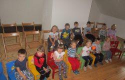 Návštěva knihovny Včeličky
